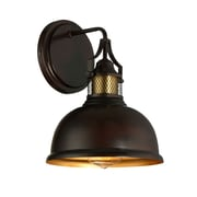 Filament Design 1-Light Oiled Rubbed Bronze Sconce with Brass Accents (STL-SVS474783)