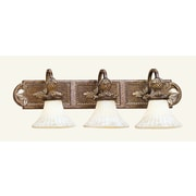 Livex Lighting 3-Light Venetian Patina Bath Vanity Light (8463-57)
