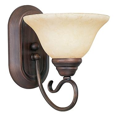 Livex Lighting 1-Light Imperial Bronze Bath Vanity Light (6101-58)
