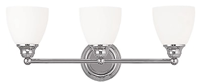 Livex Lighting 3-Light Chrome Bath Light (13663-05)