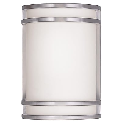 Livex Lighting 2-Light Wall Brushed Nickel Wall Sconce (9414-91)