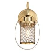 Filament Design 1-Light Natural Brass Sconce (STL-SVS473953)