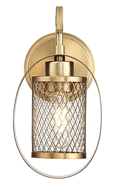 Filament Design 1-Light Natural Brass Sconce (STL-SVS473953)