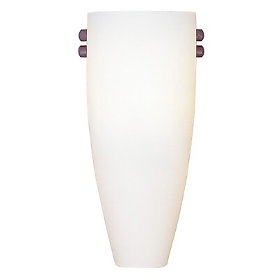 Livex Lighting 1-Light Bronze and Brushed Nickel Wall Sconce (4480-99)