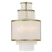 Livex Lighting 2-Light Winter Gold Sconce (50782-28)