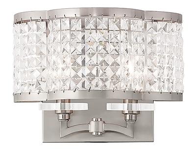 Livex Lighting 2-Light Brushed Nickel Wall Sconce (50568-91)