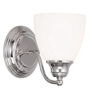 Livex Lighting 1-Light Chrome Wall Sconce (13671-05)