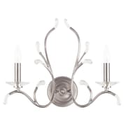 Livex Lighting 2-Light Brushed Nickel Wall Sconce (51002-91)