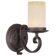 Livex Lighting 1-Light Wall Imperial Bronze Wall Sconce (5481-58)