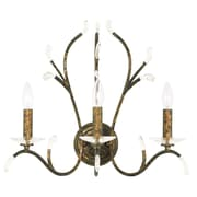 Livex Lighting 3-Light Venetian Golden Bronze Wall Sconce (51013-71)