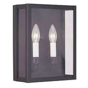 Livex Lighting 2-Light Bronze Wall Sconce with Clear Glass (4030-07)