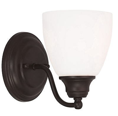 Livex Lighting 1-Light Bronze Wall Sconce (13671-07)