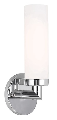 Livex Lighting 1-Light Chrome Sconce (10103-05)