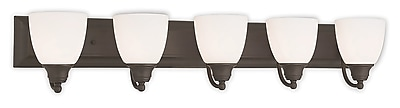 Livex Lighting 5-Light Bronze Bath Light (10505-07)