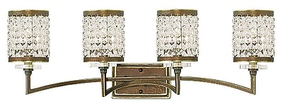 Livex Lighting 4-Light Palacial Bronze Bath Light (50564-64)