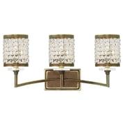 Livex Lighting 3-Light Palacial Bronze Bath Light (50563-64)