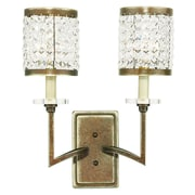 Livex Lighting 2-Light Palacial Bronze Wall Sconce (50572-64)