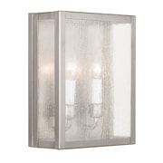 Livex Lighting 2-Light Brushed Nickel Wall Sconce (4050-91)