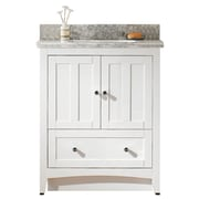 "American Imaginations 30.5""W Vanity Set White (AI-17562)"
