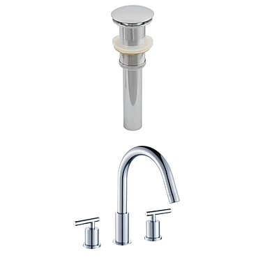 American Imaginations CUPC Approved Brass Faucet Set in Chrome (AI-8023)
