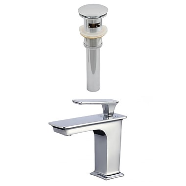 American Imaginations CUPC Approved Brass Faucet Set in Chrome (AI-23443)