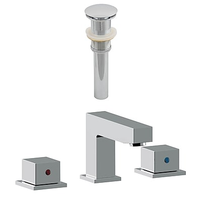 American Imaginations CUPC Approved Brass Faucet Set in Chrome (AI-23446)
