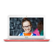 "ASUS C300SA-DH02 13.3"" Chromebook, LCD-LED, Intel Celeron, 16GB Flash, 4GB RAM, Chrome OS, Red"