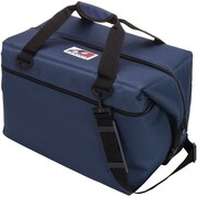 AO Coolers 12-Can Canvas Cooler, Navy Blue (AO12NB)