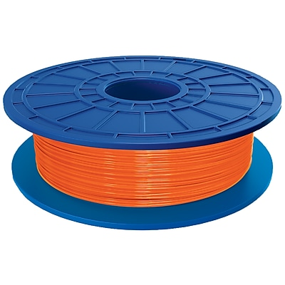 DF04-01 1.75mm dia PLA Filament for Dremel 3D Idea Builder Printer (Orange)