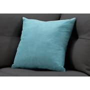 """Monarch Specialties 18"""" x 18"""" Polyester Green Accent Pillow (I 9288)"""