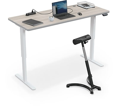 Balt Up-Rite Electric Height Adjust Sit to Stand Desk, 72