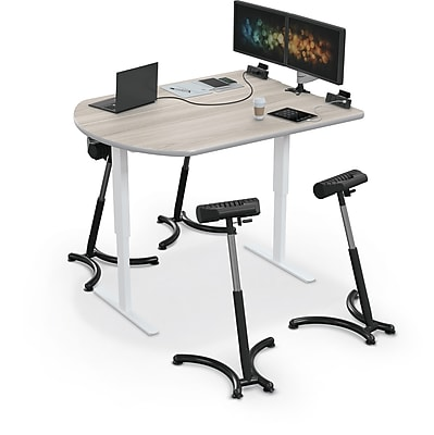 Balt Up-Rite Electric Height Adjust Sit to Stand Desk, 48