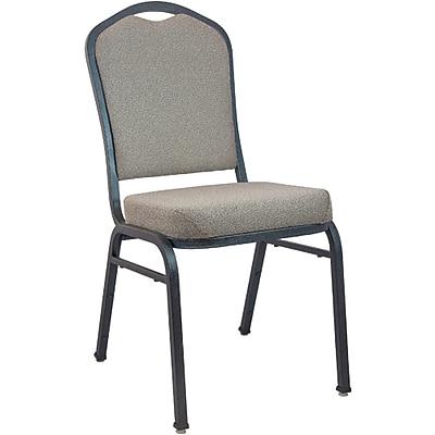 Advantage Premium Tan Speckle Crown Back Banquet Chair (CBMW-222)