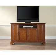 "Crosley LaFayette 60"" TV Stand in Classic Cherry Finish (KF10001BCH)"