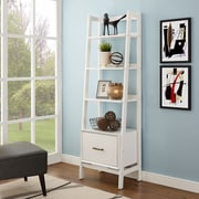 Crosley Landon Small Etagere in White (CF1109-WH)