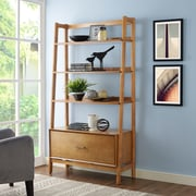 Crosley Landon Large Etagere in Acorn (CF1110-AC)
