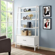 Crosley Landon Large Etagere in White (CF1110-WH)