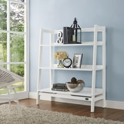 Crosley Landon Bookcase in White (prev Wide Etagere) (CF1111-WH)