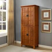 Crosley Adler Kitchen Pantry in Warm Oak Finish (CF3101-WO)