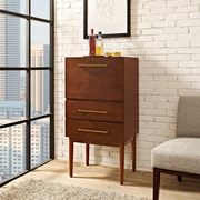 Crosley Everett Spirit Cabinet in Mahogany Finish (CF4006-MA)