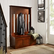 Crosley Ogden Entryway Hall Tree In Mahogany (CF6001-MA)