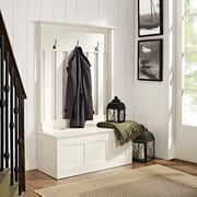 Crosley Ogden Entryway Hall Tree In White (CF6001-WH)