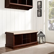 Crosley Brennan Entryway Storage Bench In Mahogany (CF6003-MA)