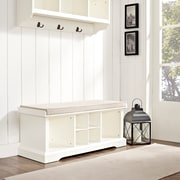 Crosley Brennan Entryway Storage Bench In White (CF6003-WH)