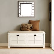 Crosley Adler Entryway Bench In White Finish (CF6009-WH)