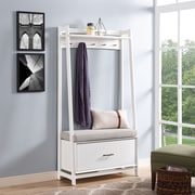 Crosley Landon Hall Stand In White (CF6015-WH)