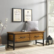 Crosley Roots Entryway Bench In Natural (CF6115-NA)