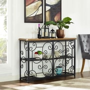 Crosley Roots Accent Cabinet In Black (CF8002-BK)