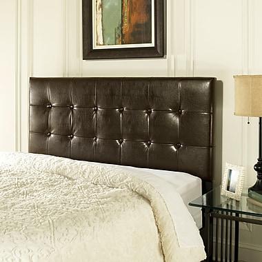 Crosley Andover King/Cal King Headboard In Brown Leatherette (CF90001-601BR)