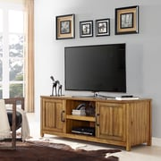 "Crosley 60"" Roots TV Stand in Natural (CF101160-NA)"